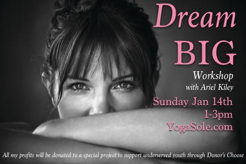 Dream Big WS Flyer